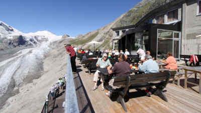 Gletscherrestaurant Freiwandeck