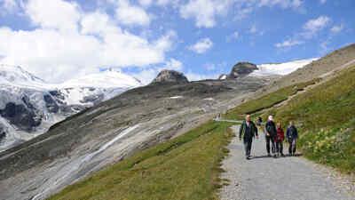 Wanderer am Kaiserweg