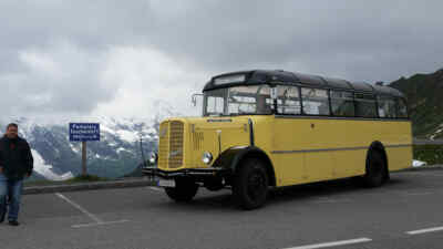 historischer Glocknerbus