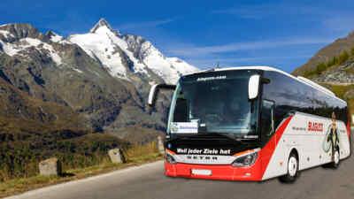 Mit dem Glocknerbus auf den höchsten Berg Österreichs