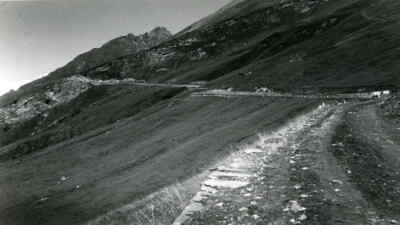Früher Verlauf der Großglockner Hochalpenstraße
