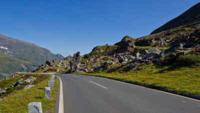 Alpenpässe Österreich - Großglockner Hochalpenstraße